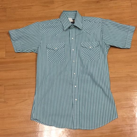 7a3834d8c Panhandle Slim Shirts   Vtg Men Sz 155 Western Pearl Snap   Poshmark